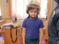 Обучающее занятие для кадетов 3-Б класса сотрудниками МЧС России